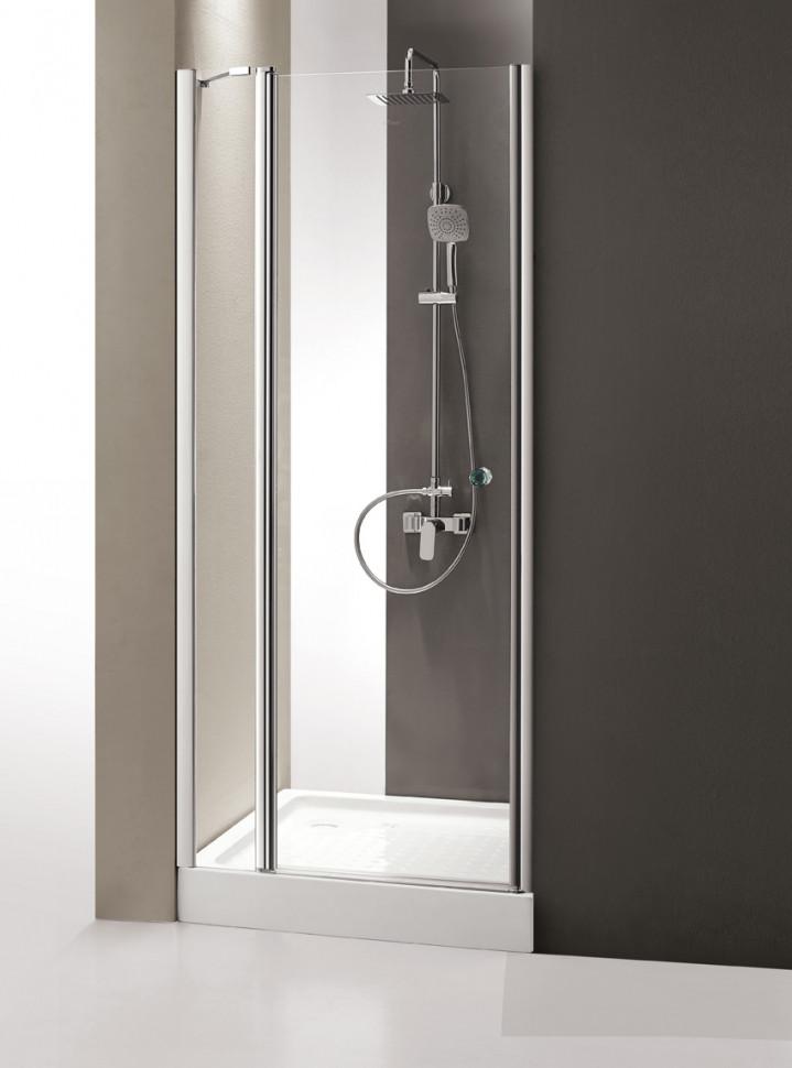 Душевая дверь распашная Cezares Triumph 120 см прозрачное стекло TRIUMPH-D-B-12-120-C-Cr