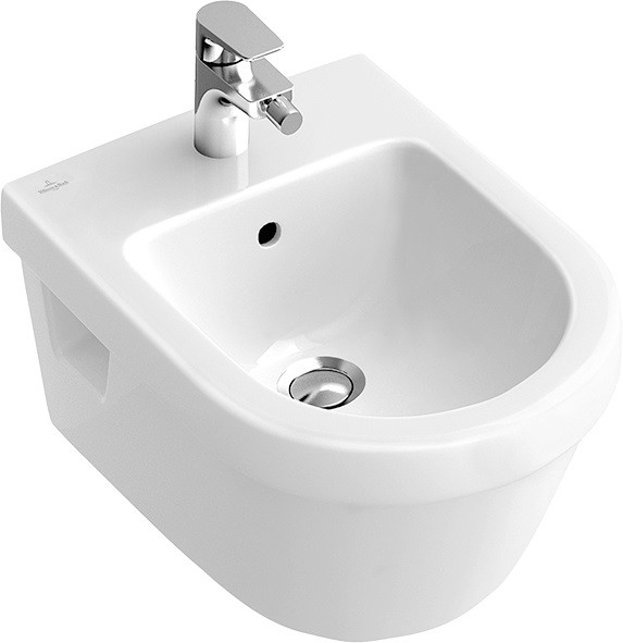 Биде подвесное Villeroy & Boch Omnia Architectura 54840001 биде villeroy boch venticello подвесное с 1 отверстием белый альпин 441100r1