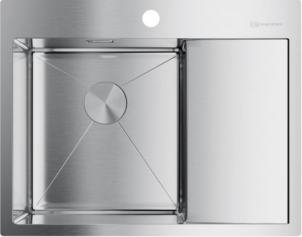 цена на Кухонная мойка нержавеющая сталь Omoikiri Akisame 65-IN-L