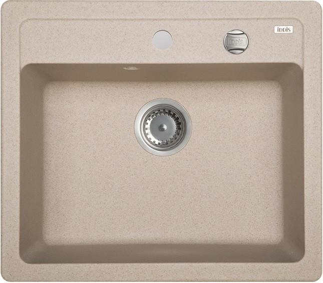 Кухонная мойка песок IDDIS Vane G V03P571I87 кухонная мойка iddis vane g v10w621i87 белая
