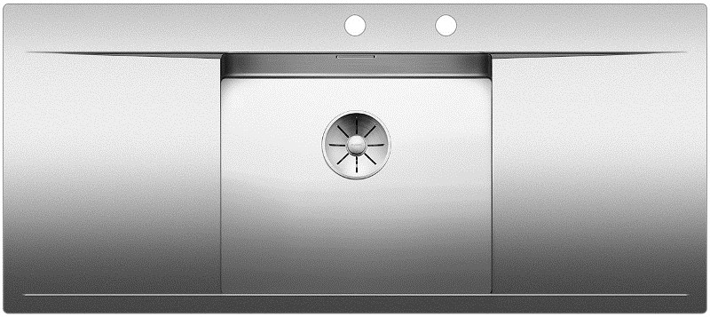 Кухонная мойка Blanco Flow 5 S-IF InFino зеркальная полированная сталь 521637