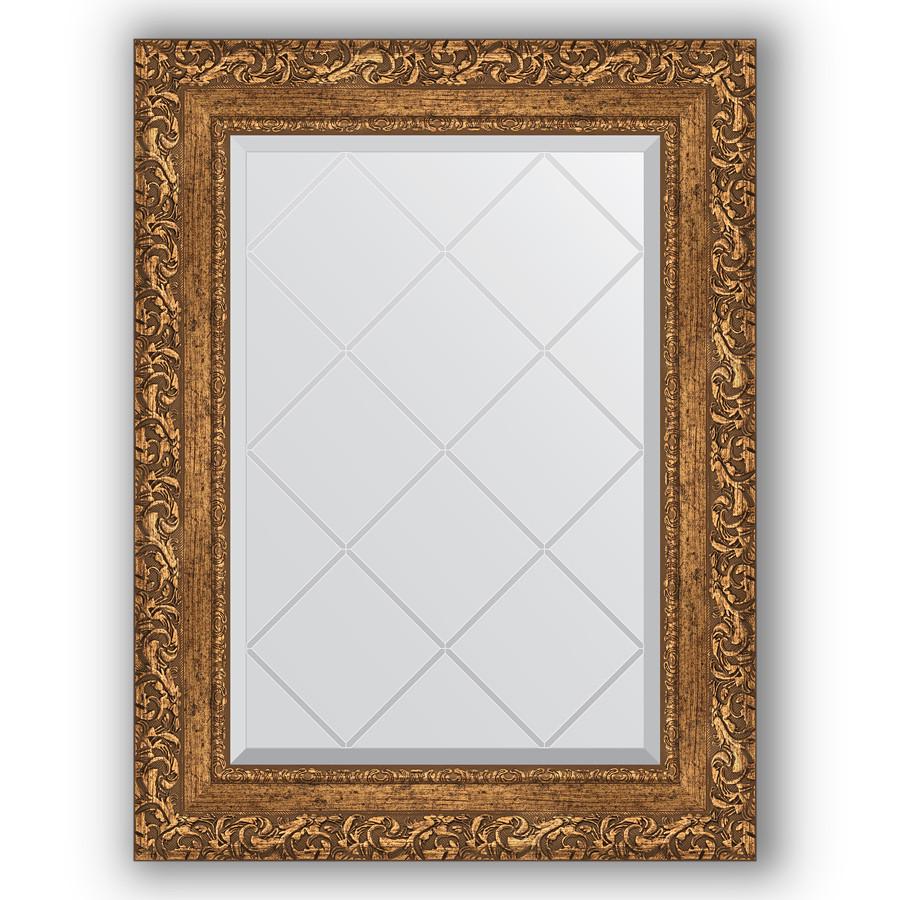 Зеркало 55х72 см виньетка бронзовая Evoform Exclusive-G BY 4013