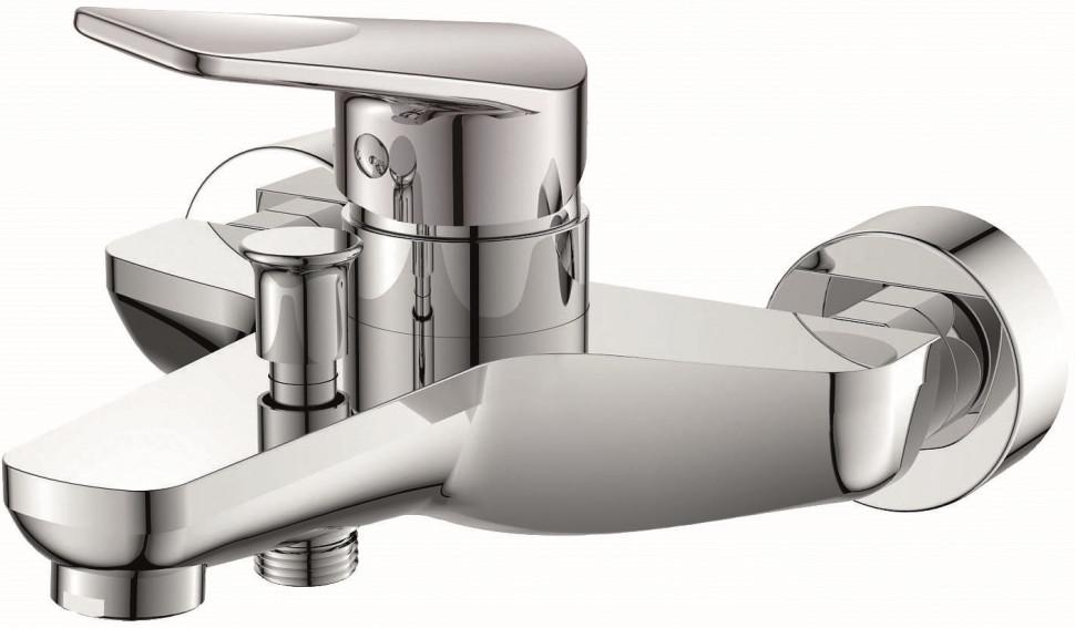Фото - Смеситель для ванны Orange Flipo M23-100cr смеситель для душа orange flipo m23 200cr однорычажный