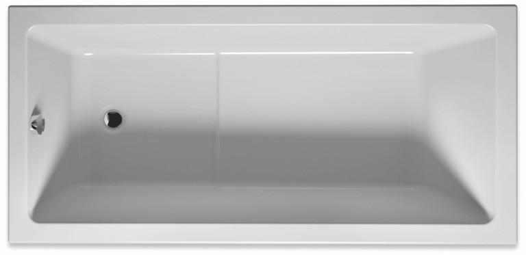 Акриловая ванна 170х80 см Riho Lusso Plus BA1200500000000 акриловая ванна riho lusso plus 170x80 без гидромассажа ba1200500000000