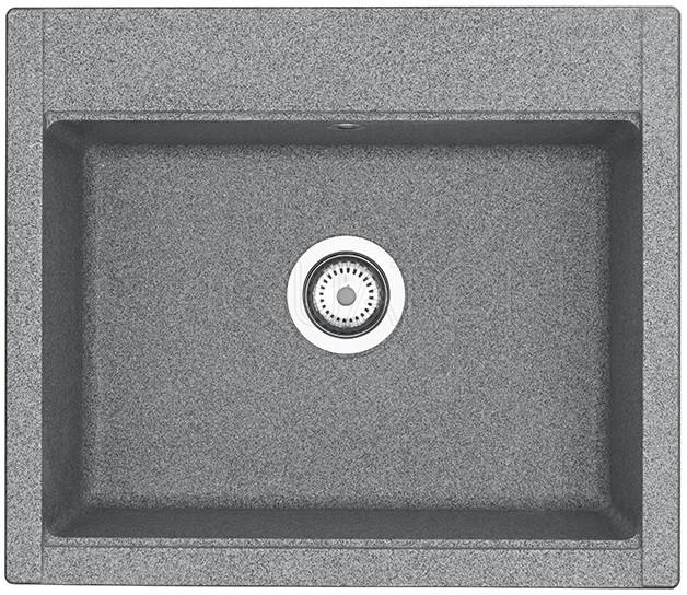 Кухонная мойка Акватон Делия серый 1A715232LD230 кухонная мойка акватон делия латте 1a718632de260
