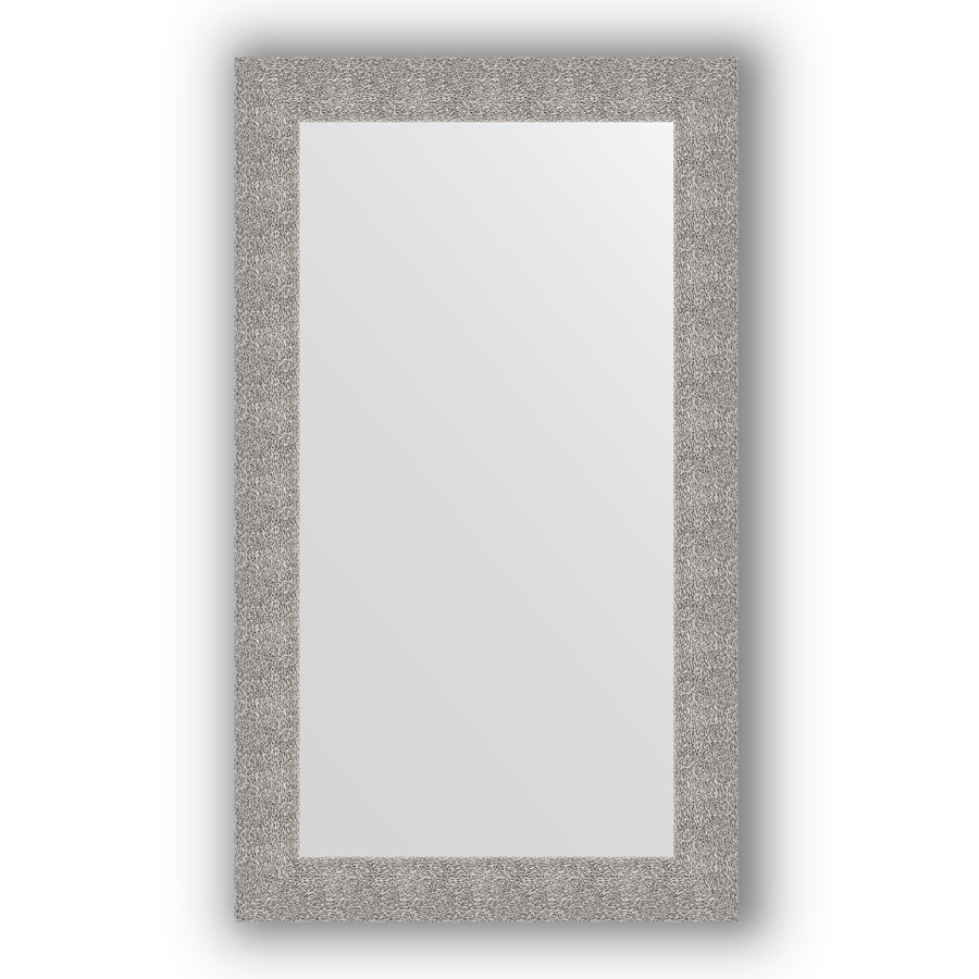 Фото - Зеркало 70х120 см чеканка серебряная Evoform Definite BY 3215 зеркало 70х70 см чеканка серебряная evoform definite by 3151
