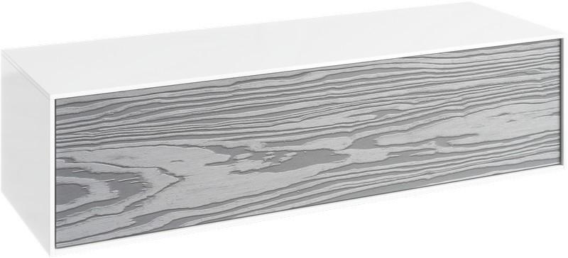 Тумба миллениум серый/белый глянец 120 см Aqwella 5 Stars Genesis GEN0312MG