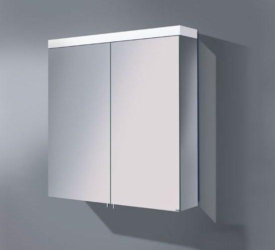 Зеркальный шкаф с люминесцентной подсветкой 80х70 см KEUCO Royal Reflex 24003171301