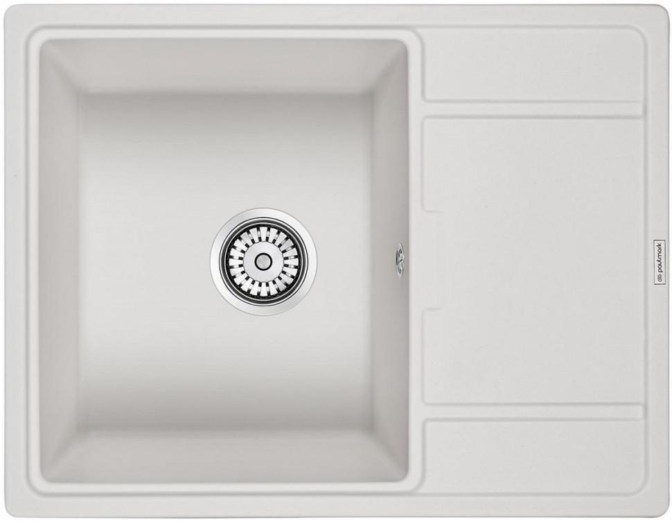 Кухонная мойка Paulmark Weimar белый PM216550-WH