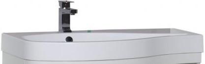 Раковина 95х54 см L Aquanet Сопрано раковина мебельная aquanet сопрано 95 правая 169396