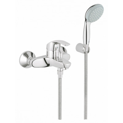 Смеситель однорычажный для ванной с душем купить в ремонты ванной комнаты фотографии