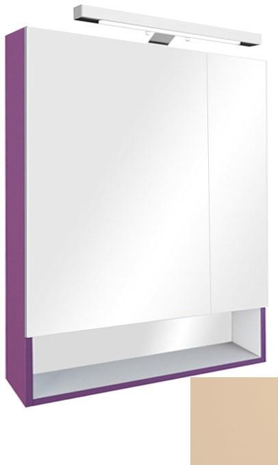 Зеркальный шкаф бежевый 70х85 см Roca The Gap ZRU9302699 фото