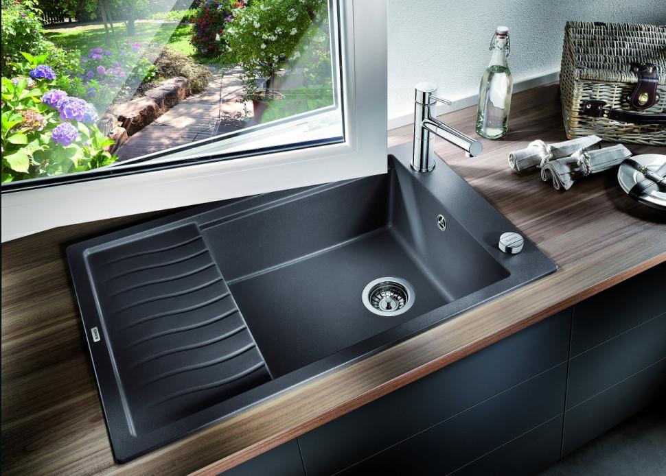 Кухонная мойка Blanco Elon XL 6S Антрацит 518735 кухонная мойка blanco elon xl 6 s антрацит