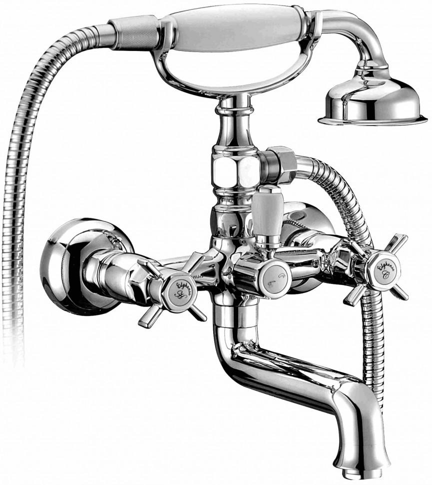 Смеситель для ванны Elghansa Praktic Chrome 2322660 смеситель для душа elghansa praktic chrome 3722660