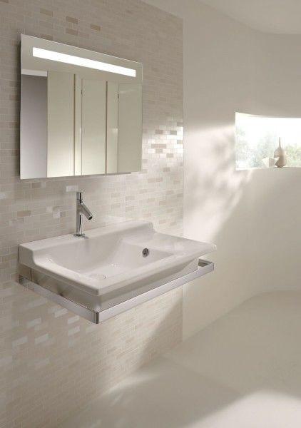 Зеркало со светодиодной подсветкой 80*65 см Jacob Delafon Parallel EB1413-NF цена