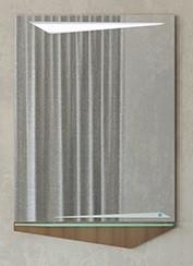 Зеркало 58,6х85 см темный лен Velvex Crystal Cub zkCUB.60-27