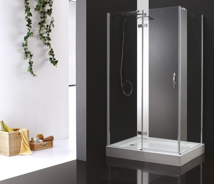Душевой уголок Cezares Bergamo 120x90 см прозрачное стекло BERGAMO-W-AH-1-120/90-C-Cr-L фото