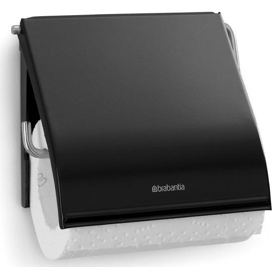Держатель туалетной бумаги Brabantia Classic 108600 держатель для туалетной бумаги brabantia profile цвет черный 483400