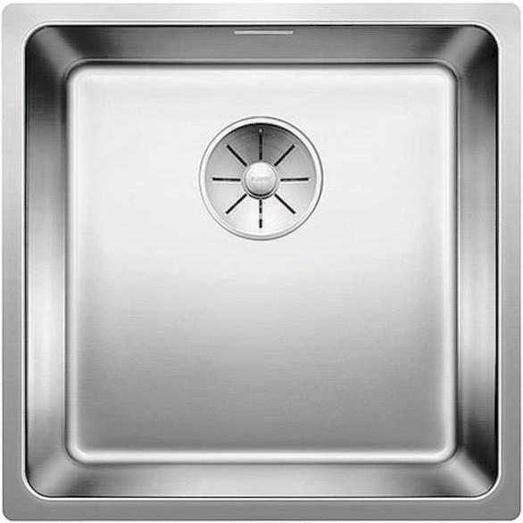 Кухонная мойка Blanco Andano 450-U InFino зеркальная полированная сталь 522963 кухонная мойка blanco andano 450 u нерж сталь зеркальная полировка 522963