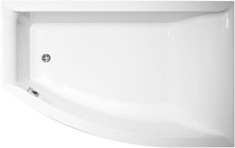 Акриловая ванна 160х105 см R Vagnerplast Veronela offset VPBA160VEA3PX-04 акриловая ванна 160х105 см l vagnerplast selena vpba163sel3lx 04