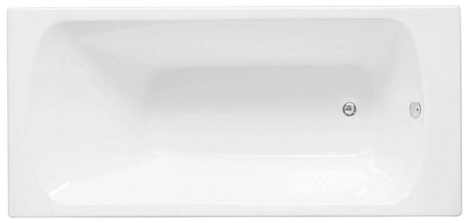 Акриловая ванна 150x69,3 см Aquanet Roma 00205541 ванна aquanet roma 170x70