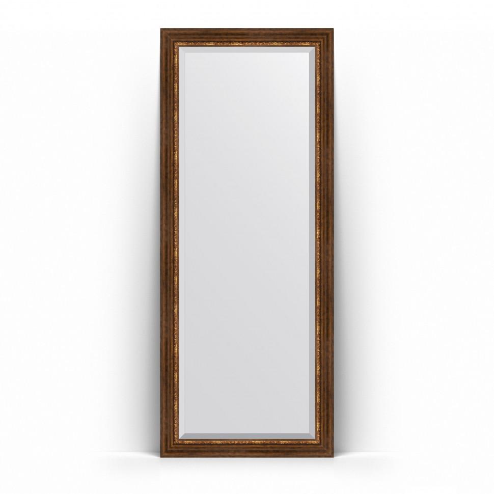 Фото - Зеркало напольное 81х201 см римская бронза Evoform Exclusive Floor BY 6119 зеркало напольное 81х201 см чеканка золотая evoform definite floor by 6008