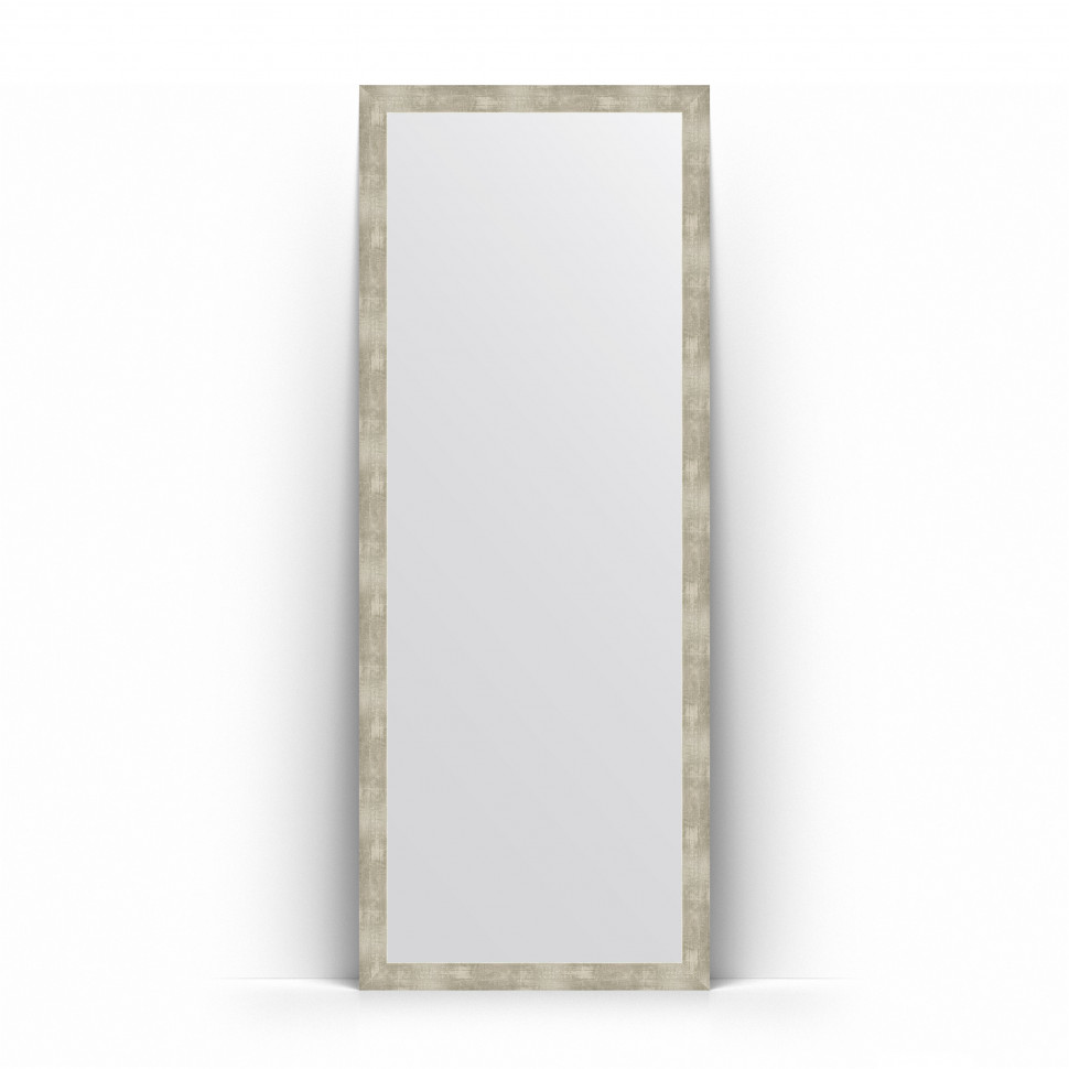 Зеркало напольное 76х196 см алюминий Evoform Definite Floor BY 6001 зеркало evoform definite 74х54 алюминий