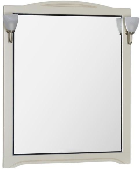 Зеркало 100х112 см бежевый Aquanet Луис 00173207