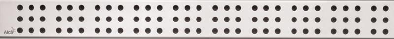 Декоративная решетка 544 мм AlcaPlast Cube нержавеющая сталь CUBE-550M
