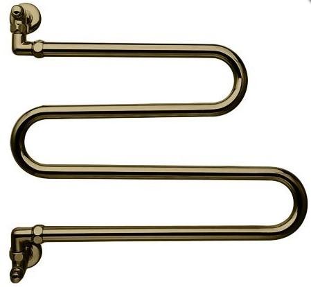Полотенцесушитель водяной поворотный Margaroli Vento 406OB бронза полотенцесушитель водяной поворотный margaroli vento 406ob бронза