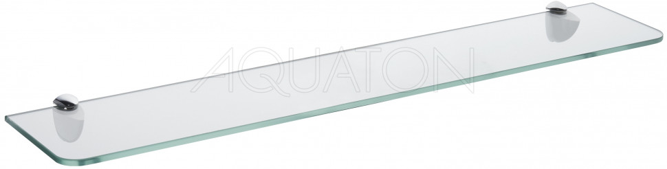 Полка стеклянная 65 см Акватон Альпина 1A134903AL010 фото