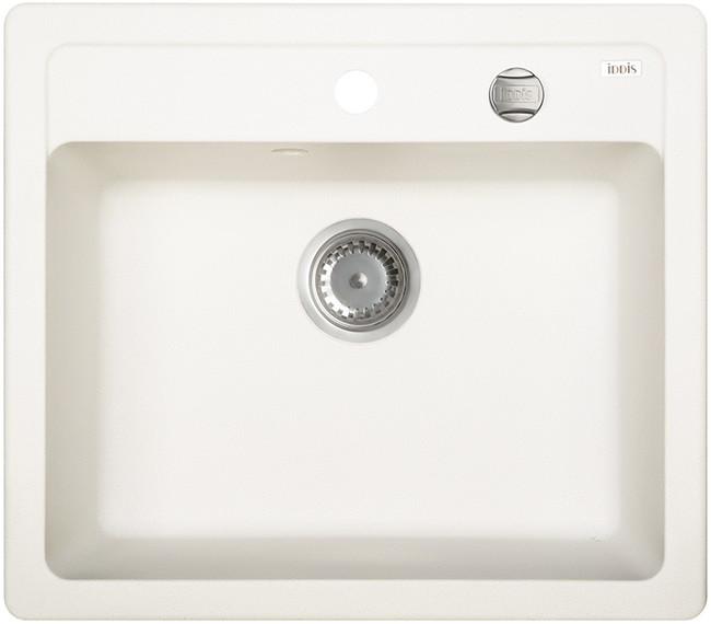 Кухонная мойка белый IDDIS Vane G V05W571I87