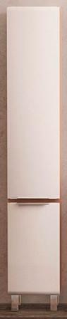 Пенал напольный темный лен/белый Velvex Cub pnCUB.190-27.21 фото
