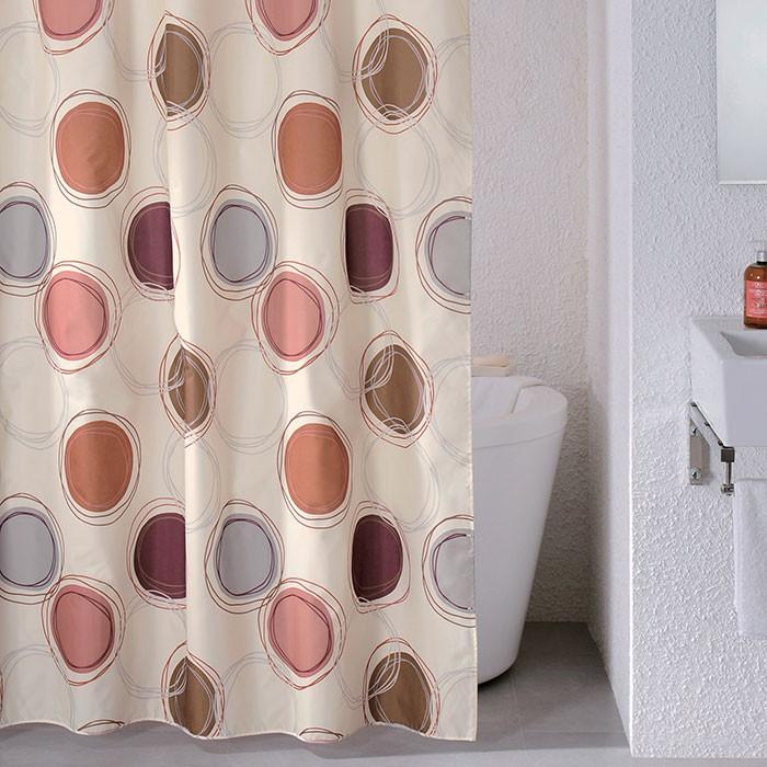 Штора для ванной комнаты Milardo Sea Stones 690P180M11 штора для ванной milardo sea stones цвет мультиколор 180 x 200 см