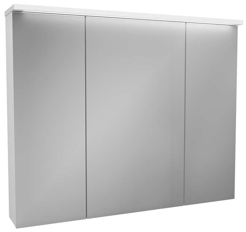 Зеркальный шкаф 100х81,9 см белый OWL 1975 Malaren OW03.13.05