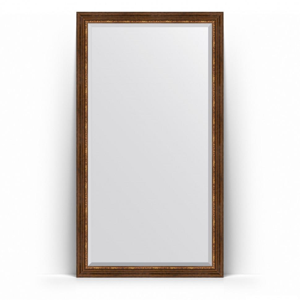 Фото - Зеркало напольное 111х201 см римская бронза Evoform Exclusive Floor BY 6159 зеркало напольное 111х201 см чеканка золотая evoform definite floor by 6020