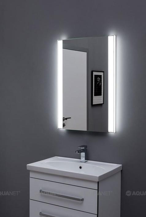 Зеркало с подсветкой 60х85 см Aquanet Форли 00196657 зеркало с подсветкой 60х85 см aquanet тоскана 00196955