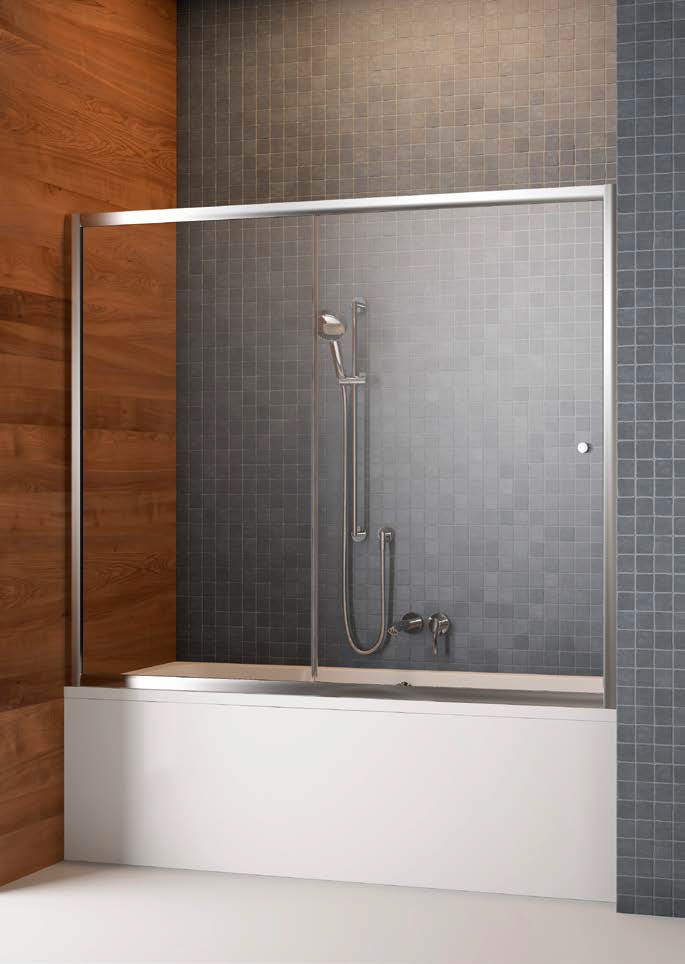 Шторка для ванны Radaway Vesta DWJ 170 прозрачное фото