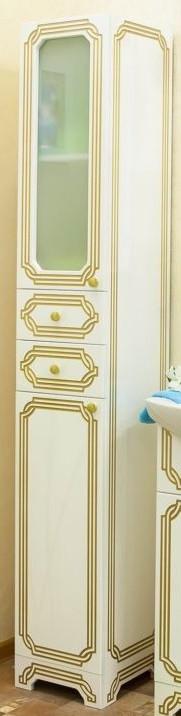 Фото - Пенал напольный белый золотая патина L Sanflor Каир H0000000209 пенал dakine lunch box 5 l augusta