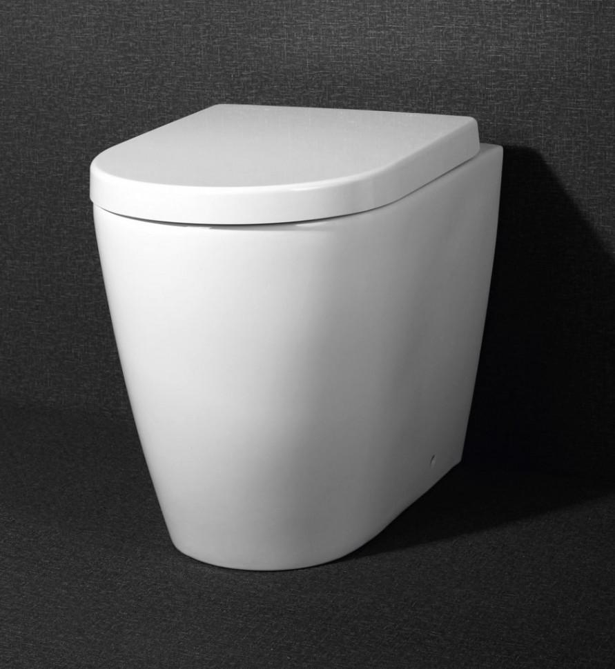Унитаз приставной безободковый BelBagno Marino BB105CBR цена
