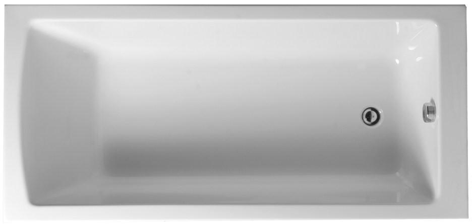 Акриловая ванна 160х70 см Vitra Neon 52520001000 ванна акриловая александра 160х70 см