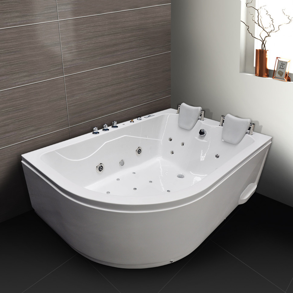 Акриловая гидромассажная ванна 180х120 см Grossman GR-18012R