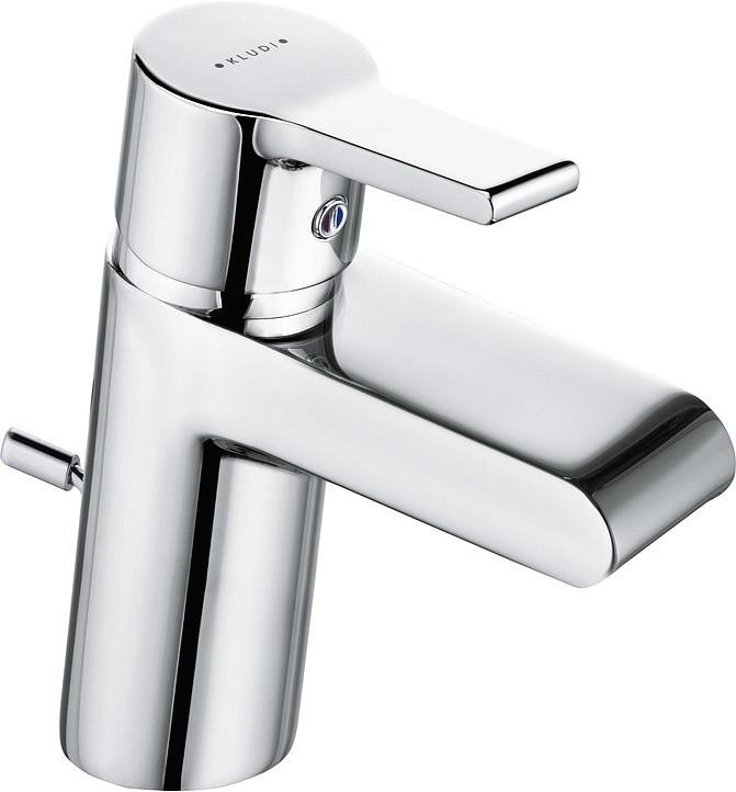 Смеситель для раковины с донным клапаном Kludi O-Cean 383400575 смеситель kludi o cean 38350 0575 для раковины