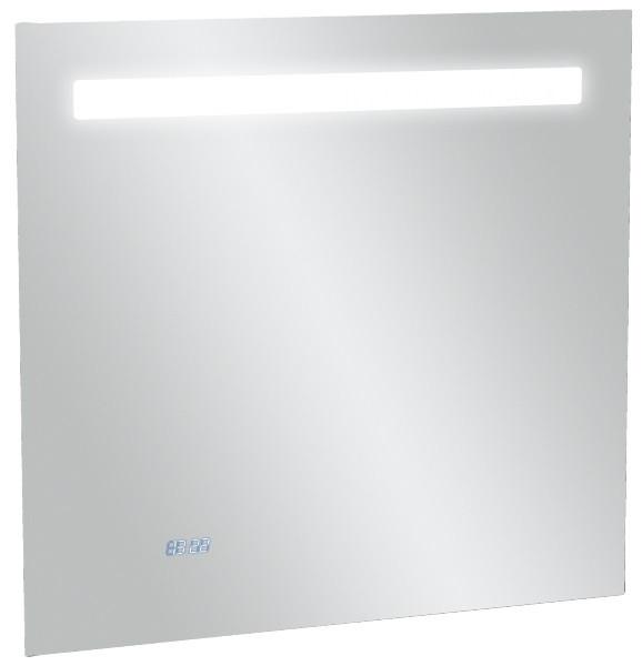Зеркало со светодиодной подсветкой и часами 70*65 см Jacob Delafon Replay EB1159-NF зеркало jacob delafon 70x65 см с часами eb1159 nf