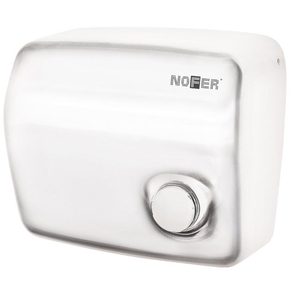 Сушилка для рук белый Nofer Kai 01250.W автоматическая сушилка для рук nofer kai 1500 w глянцевая 01251 b