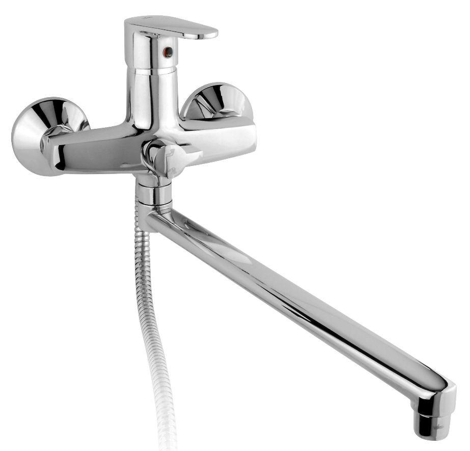 Смеситель для ванны Timo Supra 1415YCR смеситель для ванны timo для ванны nordic 0154y