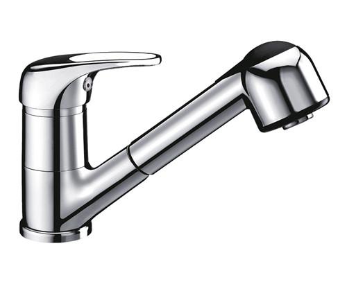 Смеситель для кухни с выдвижной лейкой WasserKRAFT Oder 6365 смеситель для кухни wasserkraft oder 6307 9060828