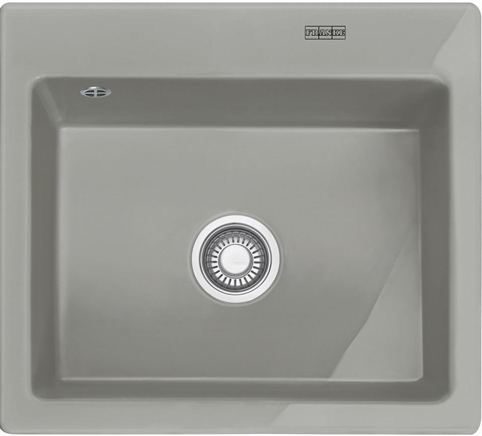 цена на Кухонная мойка Franke Mythos MTK 610-58 жемчужно-серый 124.0380.249