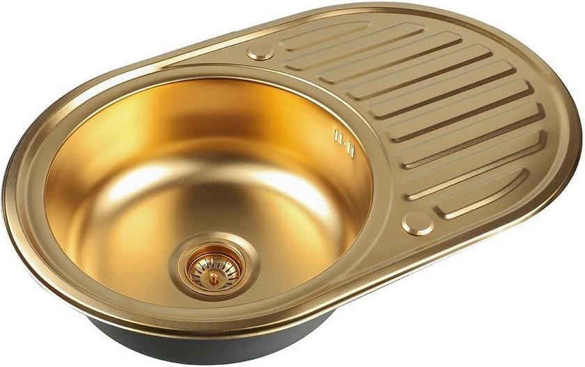 Кухонная мойка Zorg Inox PVD SZR 7750 BRONZE все цены