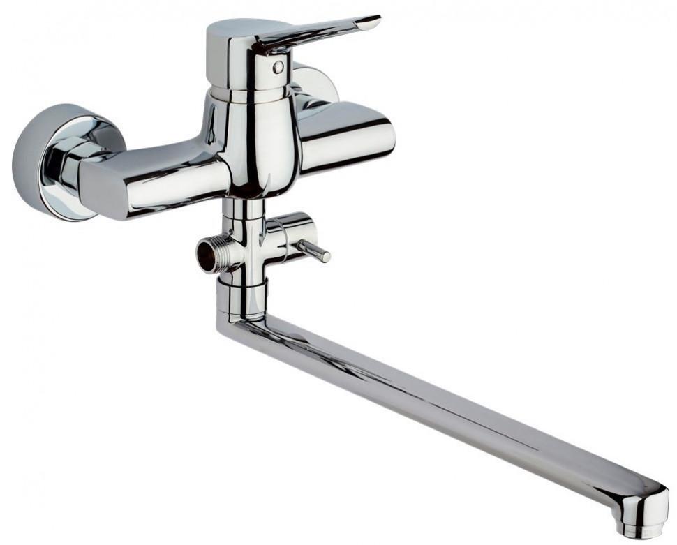 Смеситель для ванны Paini Messina MECR119KM термостат для ванны paini lady 89op105thkm